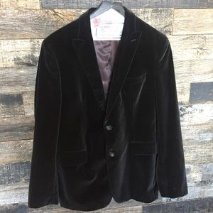 Banana Republic Velour Blazer Tailored Fit 44R